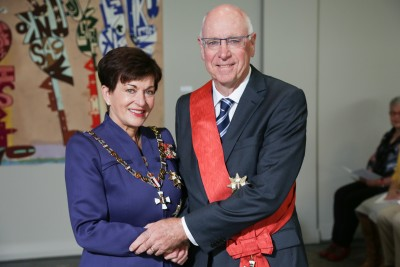 Image of Sir Stephen Tindall, of Auckland, GNZM, for services to business, the community, and the environment