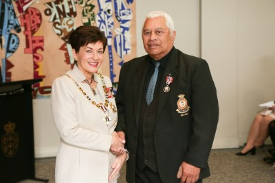 Image of Anthony Warren, of Kaikohe, QSM, for services to youth