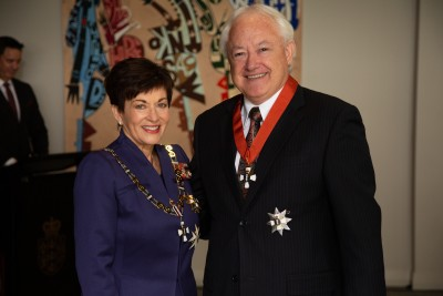 Sir Rob McLeod, of Auckland, KNZM for services to business and Maori