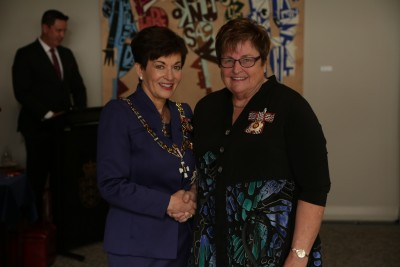 Sonia Faulkner, of Auckland, QSO for services to Girl Guiding
