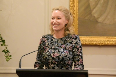 Image of Dr Melanie Vivian, CEO of the Jane Goodall Institute of New Zealand