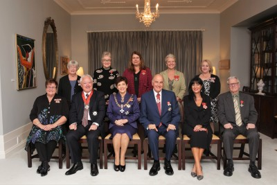 Their Excellencies with the recipients