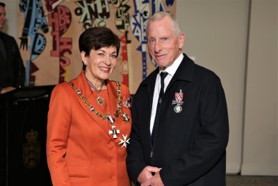 Mr Ross Richards, of Auckland, QSM for services to the community