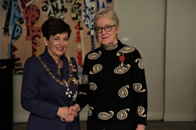 Elisabeth Vaneveld, of Auckland, MNZM for services to arts management
