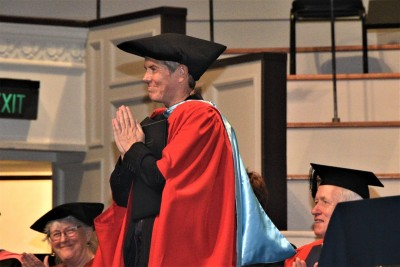 Brigid Inder, Honorary Doctor of Laws