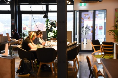 Public working space at GridAKL