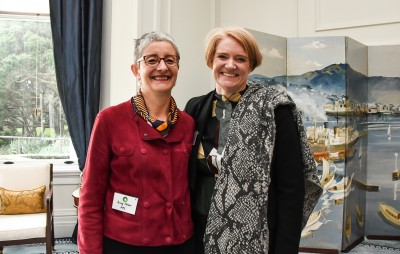 Penny Nelson, MPI and Abbie Reynolds, Executive Director of the Sustainable Business Council