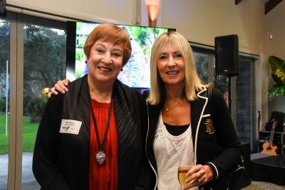 Dr Ruth Harley and Bettina Hollings