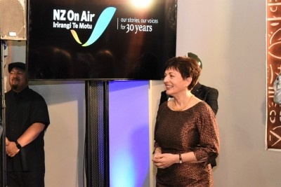 Dame Patsy at the NZ On Air 30th birthday reception