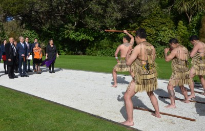 Kapa haka for HE Mr Stefan Krawielicki and his party