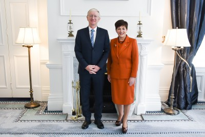 Image of Dame Patsy with HE Mr Stepan Krawielicki, Ambassador of the Federal Republic of Germany