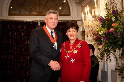 Image of  Sir Paul Adams, of Tauranga, KNZM, for services to philanthropy and the community