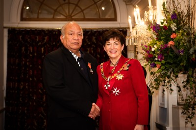 Image of  Dr Benjamin Williams, of Porirua, MNZM, for services to theology and the community