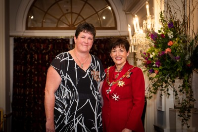 Image of Gaylene Vivian, of Palmerston North, QSM, for services to family support and health