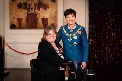 Image of  Allyson Lock, of Masterton, MNZM,  for services to people with rare health disorders