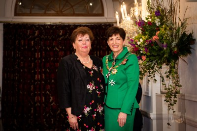 Image of  Faye James, of Palmerston North, MNZM, for services to the New Zealand Cancer Society