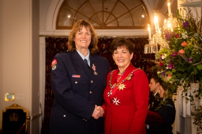 Mrs Bonnie Dobson, of Whakatane, QSM for services to Fire and Emergency New Zealand and the community