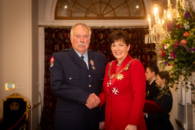 Mr Alan Tapp, of Milton, QSM for services to Fire and Emergency New Zealand and the community