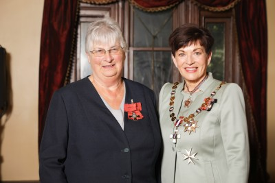 Image of  Anne Rodger, of Dunedin, MNZM, for services to women