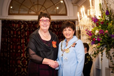 Ms Beryl Anderson, of Porirua, ONZM for services to women