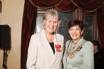 Image of  Daphne Hull, of Alexandra, MNZM, for services to tourism and recreation