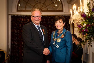 Mr Donald Thompson, of Wanaka, ONZM for services to people with intellectual disabilities