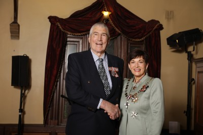 Image of  Graeme Smith, of Tapanui, QSM, for services to the community and theatre