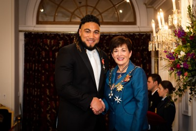 Mr Ma'a Nonu, of Wellington, MNZM for services to rugby
