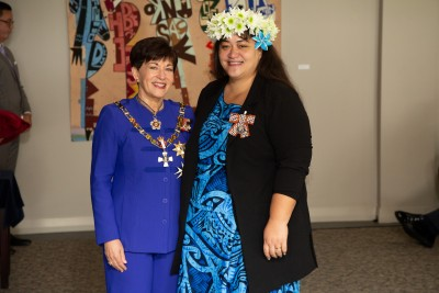 Mrs Tina Mataiti, of Auckland, QSM for services to the Pacific community and health