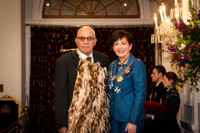 Mr Sydney Kershaw, of Patea, QSM for services to Māori performing arts and the community