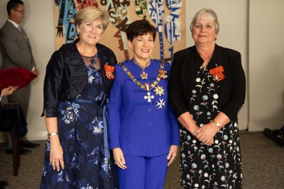 Mrs Sally Wilson, of Auckland and Mrs Sue Wynyard of Auckland, MNZM  for services to midwifery
