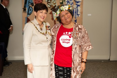 Ms Fala Haulangi, of Auckland, QSM for services to the Pacific community and workers' rights