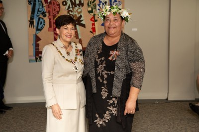 Mrs Sagaa Malua, of Auckland, QSM for services to the Tuvaluan community