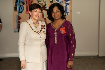 Ms Shila Nair, of Auckland, MNZM for services to ethnic communities and women