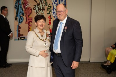 Mr Martyn Norrie, of Rotorua, QSM for services to the community