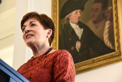Image of Dame Patsy speaking
