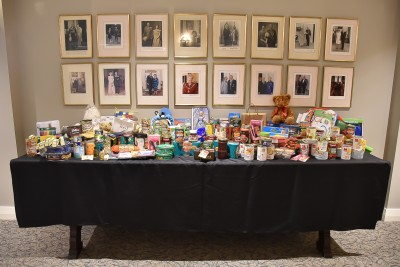 Images of donations for the Auckland City Mission