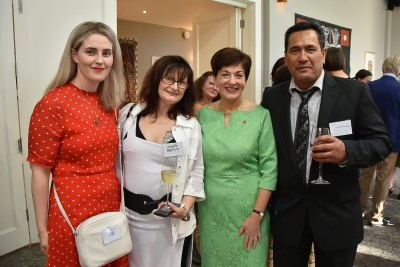 Image of Dame Patsy with Holly Mathieson, Annette Profit and George Ngatamariki