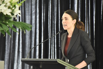 Image of The Prime Minster, Jacinda Ardern apologising on behalf of the New Zealand government