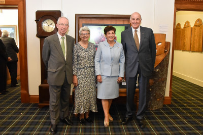 Image of Dame Patsy and Sir David with Ian and Jenny McKinnon