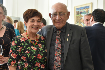Image of Dame Patsy with Sir Hirini Mead