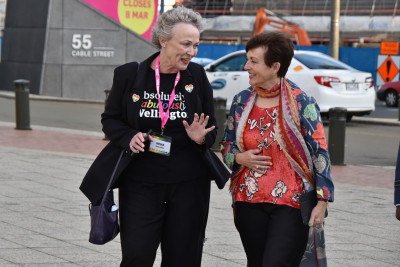 Dame Patsy meeting Cr Nicola Young