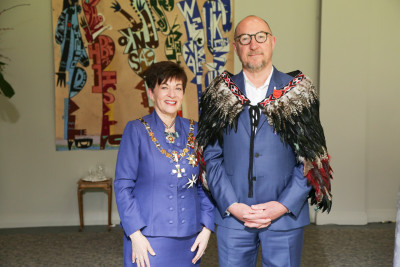 Image of Dr David Codyre, of Auckland, MNZM, for services to mental health