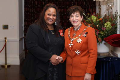 Miss Sonia Tiatia, of Wellington, MNZM for services to hospitality and youth