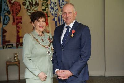 Paul McGill Dame Patsy Reddy