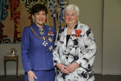 Suzanne Sinclair, Dame Patsy Reddy