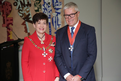 Tony Carter Dame Patsy Reddy