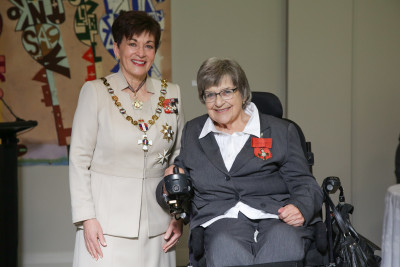 Ms Pauline Stansfield, of Auckland, MNZM for services to people with disabilities