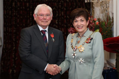 Mr Peter Barker, of Wellington, MNZM for services to the community