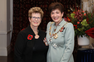 Ms Robyn Watchorn, of Whakatane, QSM for services to the community and art
